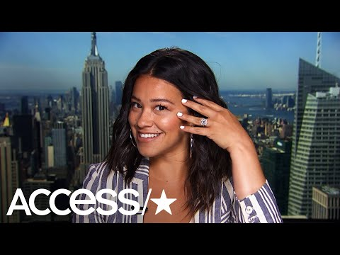 Gina Rodriguez Doesn't Deny Engagement : 'I Am Very Happy'  Access