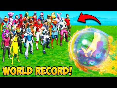 THE BEST *WORLD RECORD* MULTI-KILLS!! - Fortnite History & Throwbacks! #1