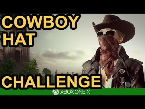 COWBOY HAT CHALLENGE   PUBG Xbox One X - YouTube 448762fdff1