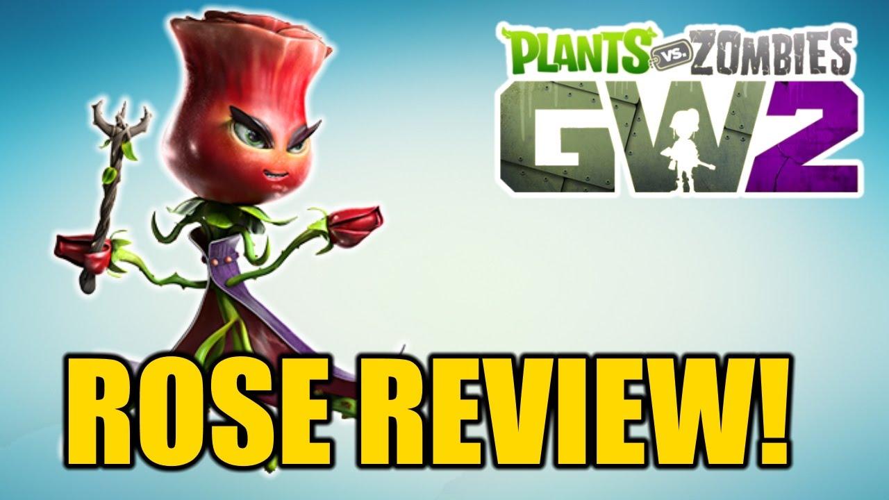 Plants Vs Zombies Garden Warfare 2 Rose Character Breakdown Abilities More