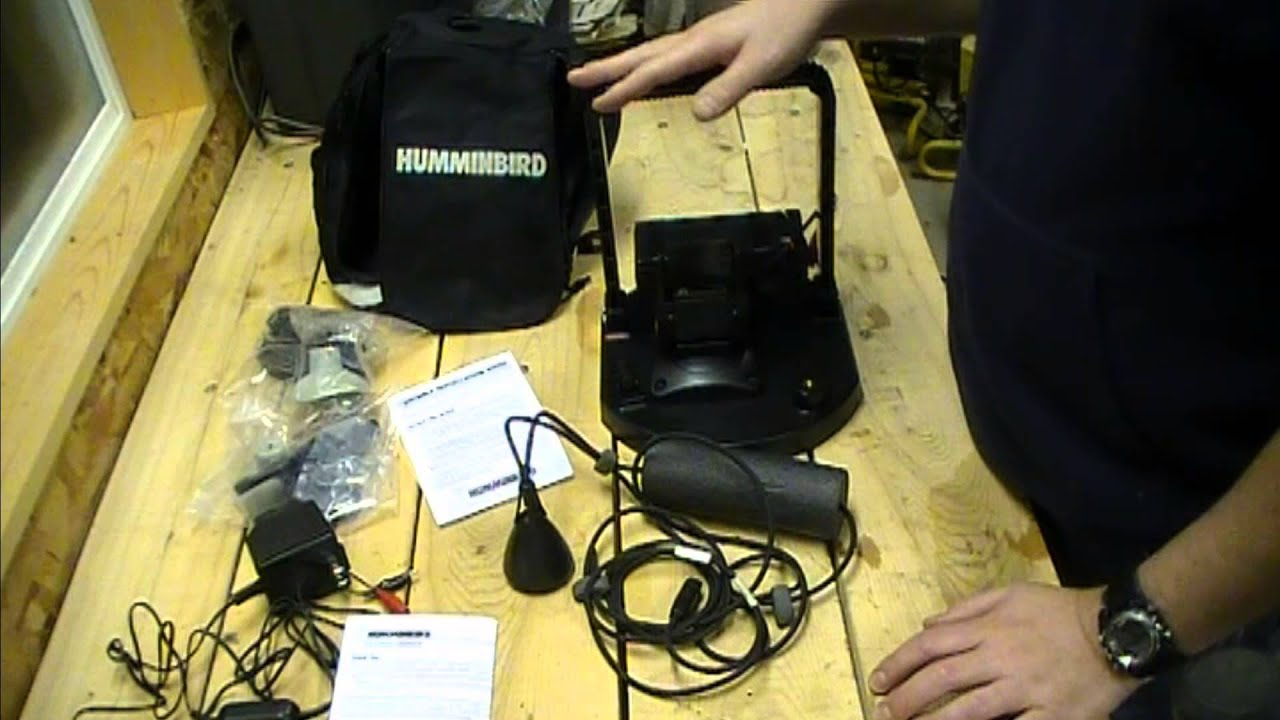humminbird ice fishing conversion youtube