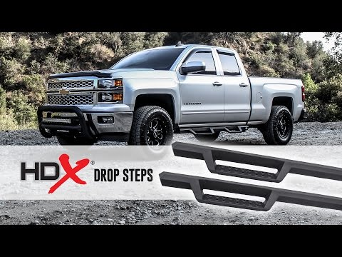 HDX Drop Steps Install Video (Part No. 56-13725)