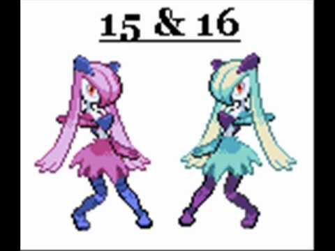 Vote For The Coolest Gardevoir Sprite Youtube