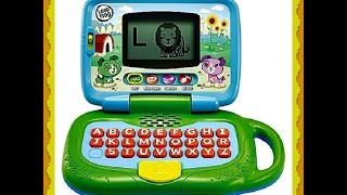 Leapfrog My Own Laptop alphabet abcd and song for toddler kids baby best  learning toy