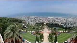 www.israel.bzfolk.com  - экскурсии в Хайфу(На этом видео показан вид на город Хайфа. Главная достопримечательность Хайфы - знаменитый Бахайский храм..., 2012-02-29T13:14:38.000Z)