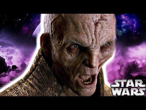 SNOKE DELETED SCENE REVEALED - Star Wars Explained