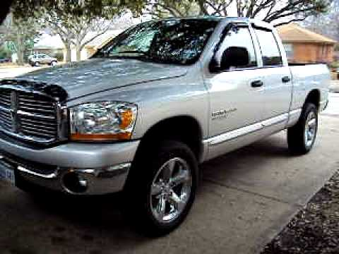 2006 dodge ram 1500 4x4 youtube. Black Bedroom Furniture Sets. Home Design Ideas