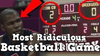 This Was The Most Ridiculous Basketball Game Ever Played