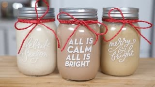3 Holiday Coffee Creamers | Edible Gifts