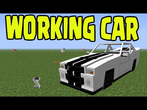 Minecraft PS3, PS4, Xbox, Wii U - WORKING CAR with SLIME BLOCKS! (Title Update TU31 / 1.8)
