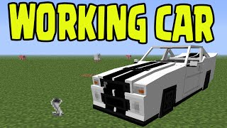Minecraft PS3, PS4, Xbox, Wii U - WORKING CAR with SLIME BLOCKS! (Title Update TU31 / 1.8)