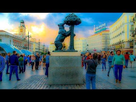 A Walk In The Puerta Del Sol Neighborhood of Madrid