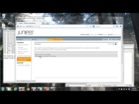 WLAN - Configuring a WLAN Captive Portal - YouTube