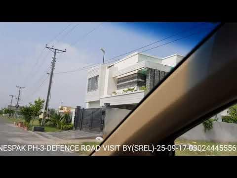 NESPAK HOUSING SOCIETY PHASE 3 DEFENCE ROAD LATEST VISIT BY( SREL)-25-09-17
