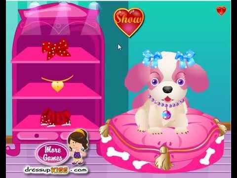 Игра для девочек Уход за щенком - Сказочный подарок