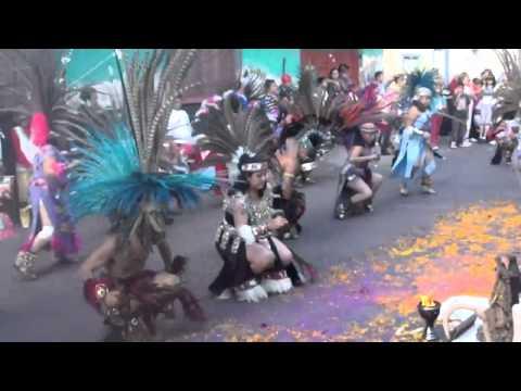 danza azteca, el conejo: por Titis