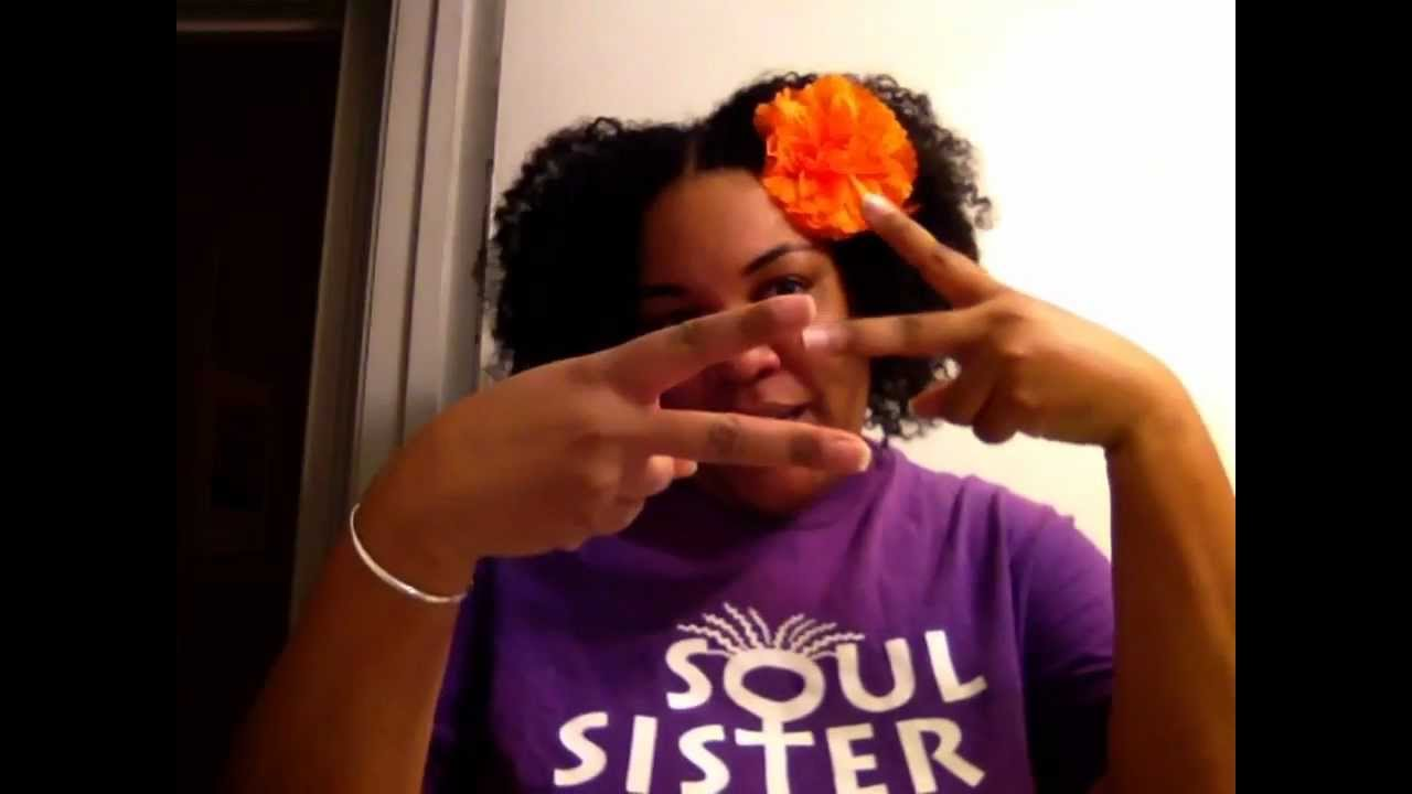 Soul Sisters Hair Braid Out Day 2 Youtube