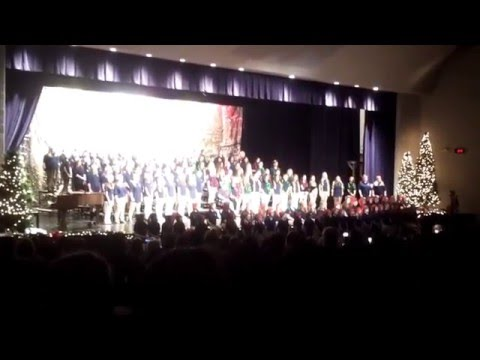 New Prairie Middle School Christmas Concert 2015