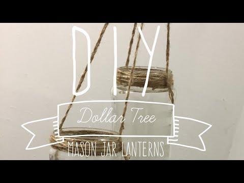 DIY Dollar Tree Mason Jar Lanterns Backyard IDoBBQ Country Wedding Series 2017