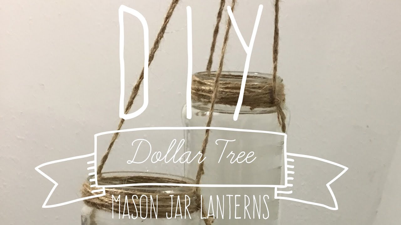 DIY Dollar Tree Mason Jar Lanterns Backyard IDoBBQ Country Wedding ...