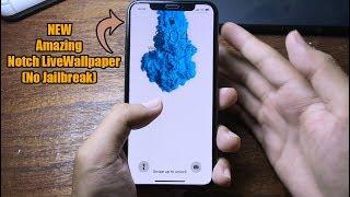 NEW Get Amazing Notch Live Wallpaper iPhone X/XR/Max No Jailbreak