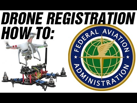 [HOW TO] DRONE REGISTRATION  - FAA - DRONE REGISTRY COST