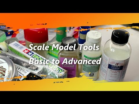 Scale Model Tools Basic to Advanced