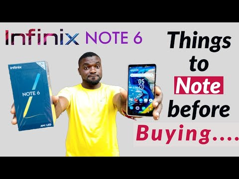 Infinix Note 6 Review. 5 Things to Note before you Buy