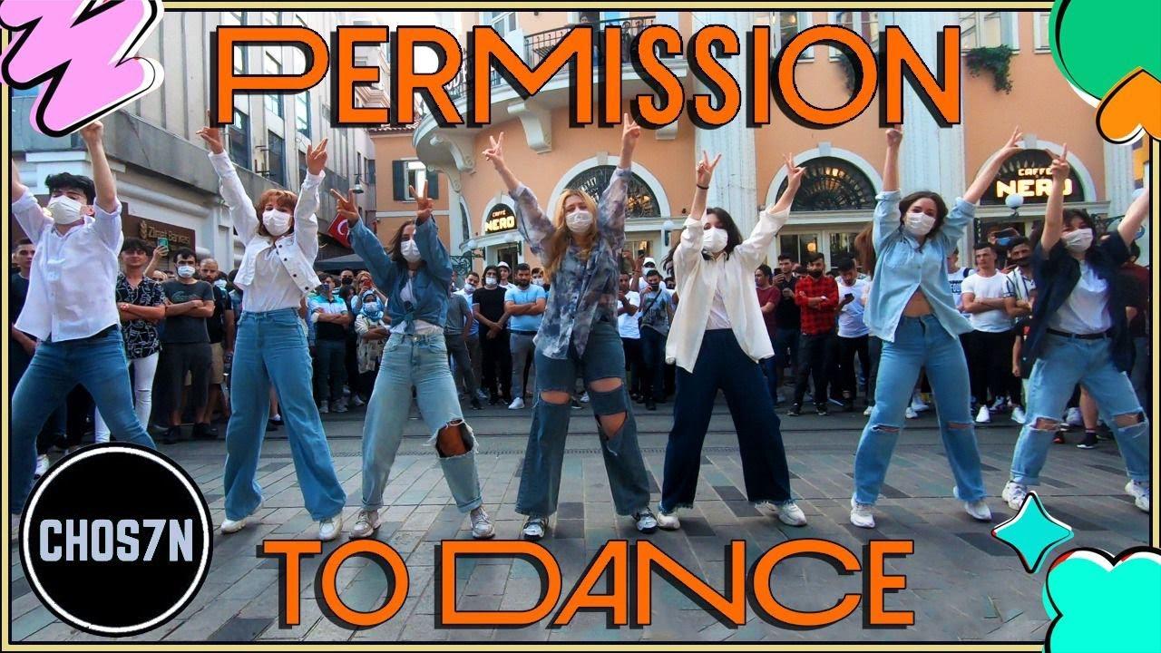 [KPOP IN PUBLIC TURKEY-ONE TAKE] BTS (방탄소년단) 'Permission to Dance' Dance Cover by CHOS7N