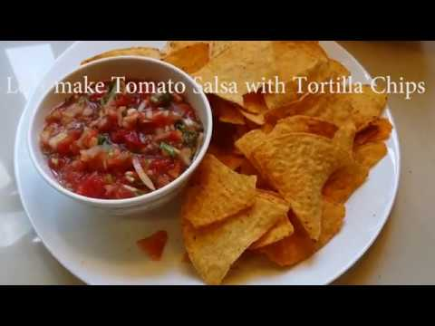 Tomato Salsa with Tortilla Chips