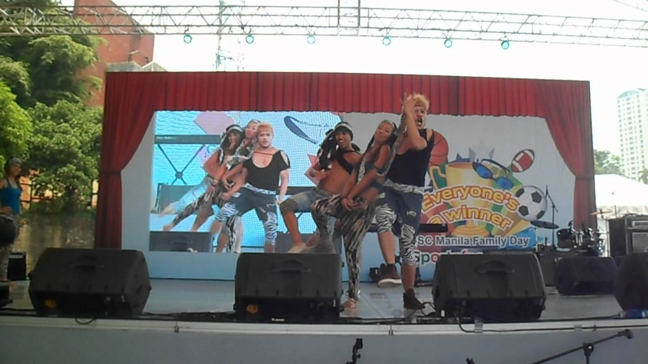 GSC Manila Dance Troupe - Where Have You Been (HSBC Family Day 2012)