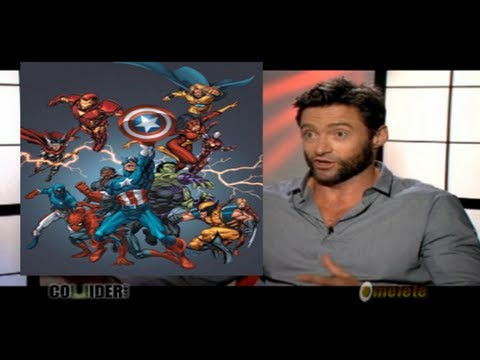 Hugh Jackman Wants Wolverine & Spider-Man To Be With The Avengers!!