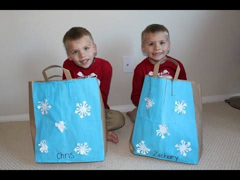 Twins Christmas Haul || Kindergarten Tales
