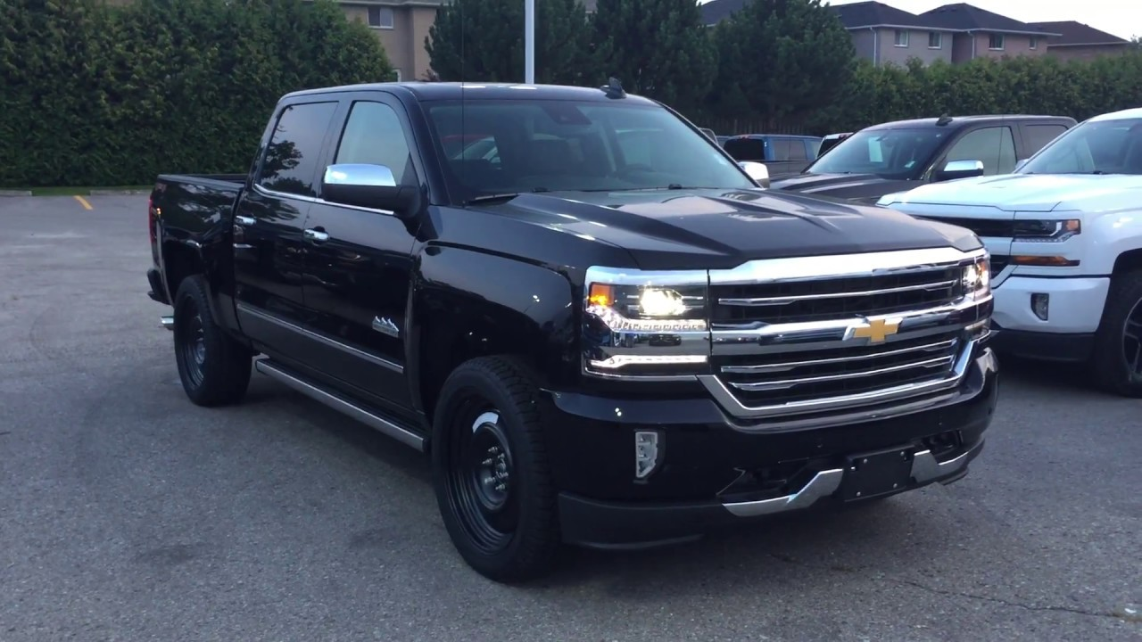 2018 Chevrolet Silverado 1500 High Country Crew Cab Roy Nichols Motors Courtice On