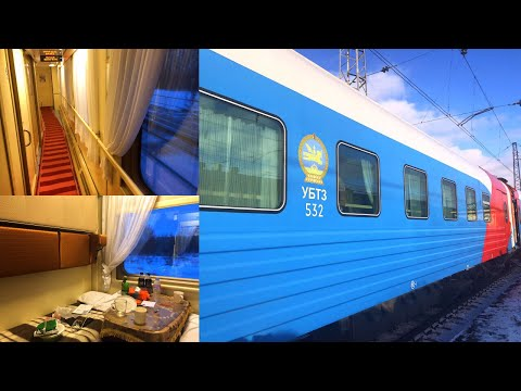 Trans Siberian Railway Winter Journey - part 5: Irkutsk - Novosibirsk Mongolian Train № 005Щ