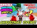 BUBBLE GUM SIMULATOR UPDATE 4 *NEW* CHRISTMAS WORLD, SECRET SANTA (Roblox) | ALL LEVELS SHOWCASE