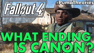 Fallout 4: What Ending is Canon? Theory #PumaTheories