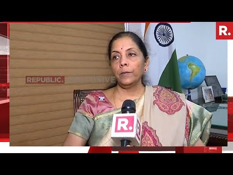 Republic TV Speaks To Nirmala Sitharaman | Exclusive