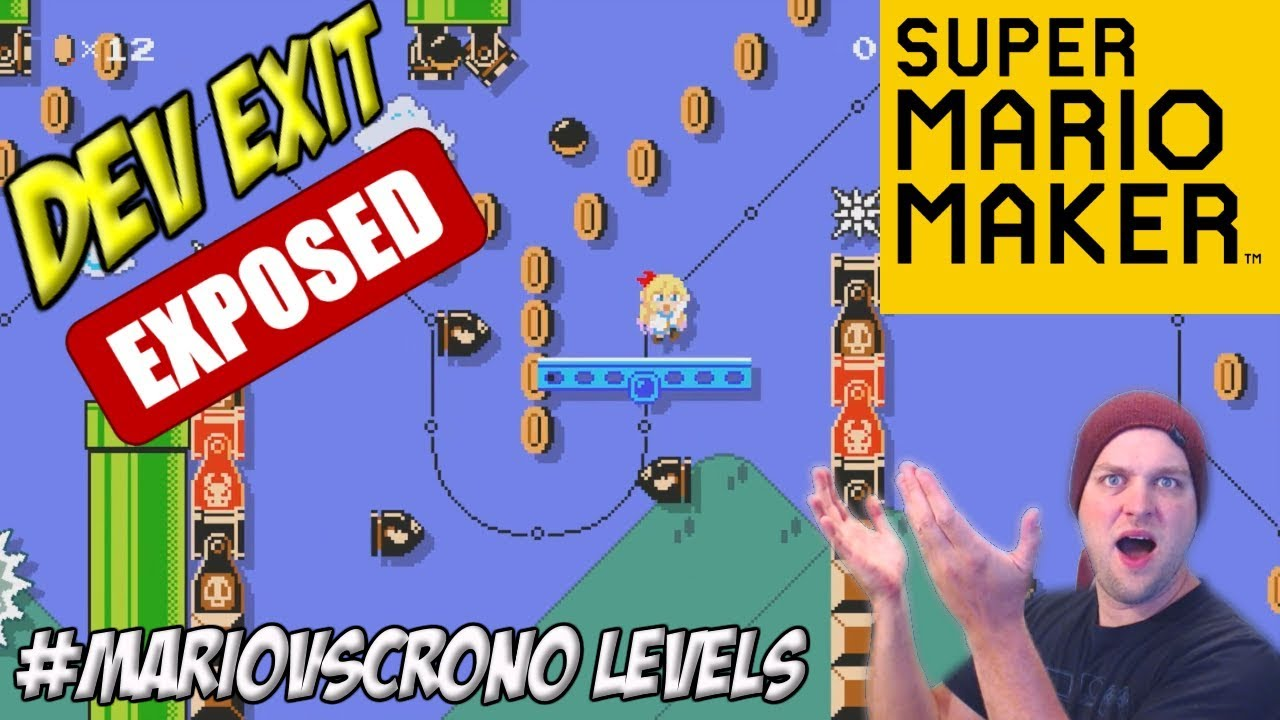 Level Creator Exposed! - #MarioVsCrono Twitter Levels - Super Mario Maker  [#10]