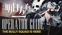 #Arknights Guide: Specialist Series #1 - Shaw / FEater / Rope / Cliffheart - The Bully Squad!