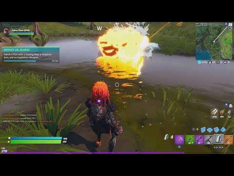 How To Catch A Fish With An Explosive Weapon In Fortnite