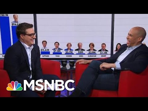 Cory Booker 'Feels Some Kind Of Way' About Billionaires Buying Onto Debate Stage   All In   MSNBC
