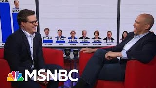 Cory Booker 'Feels Some Kind Of Way' About Billionaires Buying Onto Debate Stage | All In | MSNBC