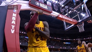 LeBron James 32 Points, 17 Assists (Crazy 3 to Force OT) at Wizards - Full Highlights 06/02/2017