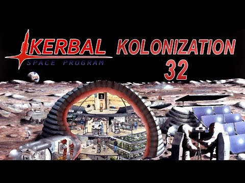 Kerbal Space Program (0.25) - Kolonization 32 - Mun Machinery Supply Run