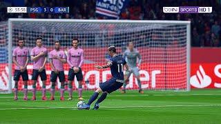 Paris saint-germain fc barcelone mod fifa 21 nouveaux maillots sur le jeu vidéo 20je joue en difficulté superstar ce utilisant la hdr...