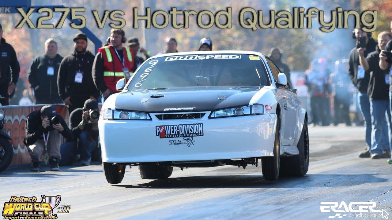 X275 Vs Hotrod Qualifying Highlights Wcf Import Vs Domestic 2018 At Mdir Eracer