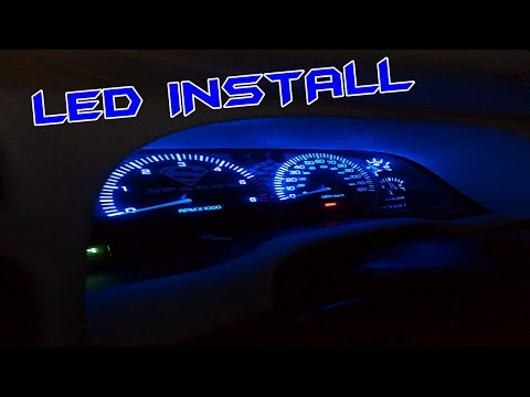 How To Install LED Dash Lights For Under $10 | Garage Edition EP. 24
