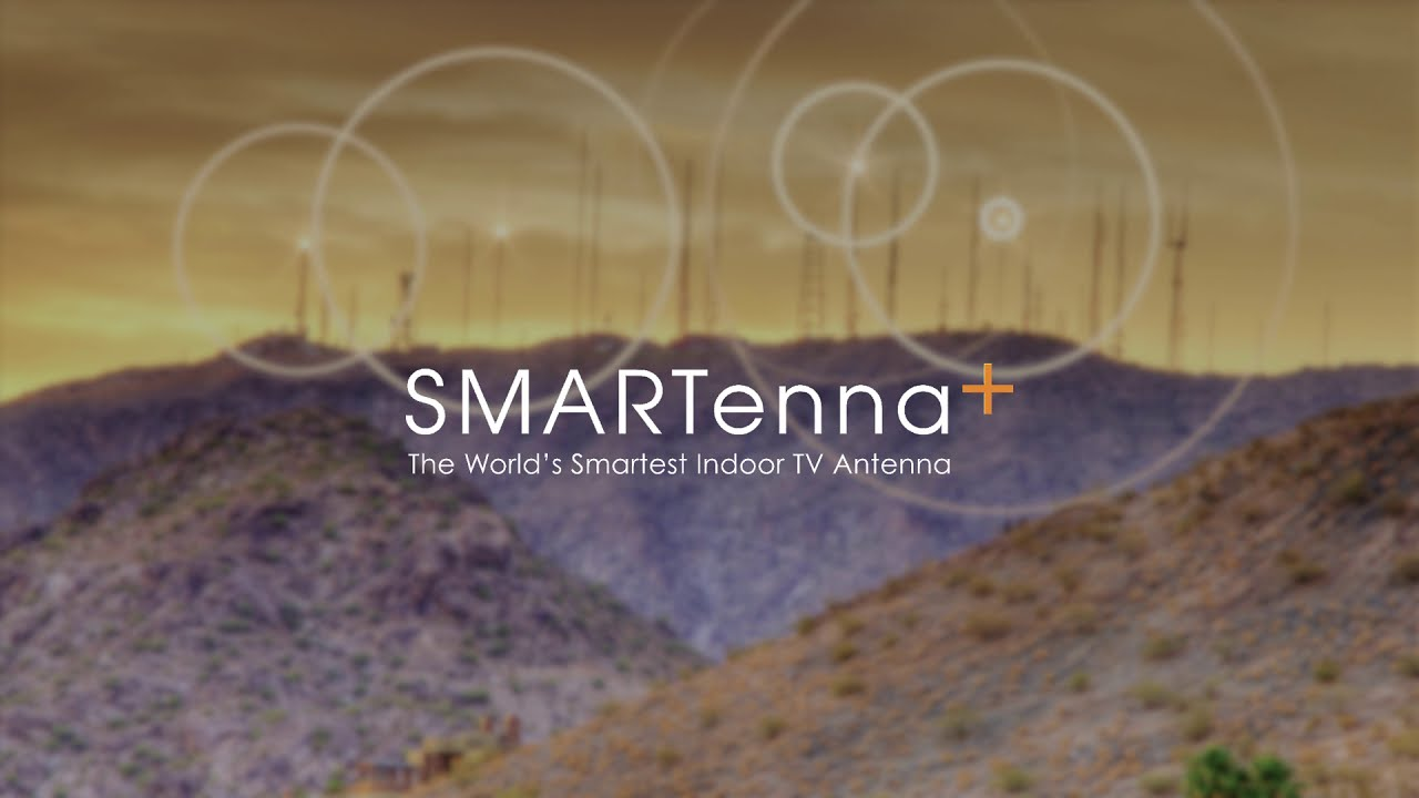 Introducing the SMARTenna+ an Amplified, Max Range Indoor TV Antenna