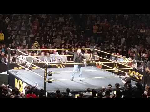NXT San Jose Live Event Triple H Adresses Crowd